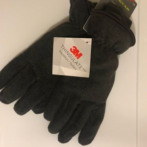 Men's Fleece Gloves-Brand New